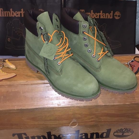 Timberland Other - Timberland 6 inch Premium Boots Pesto Green